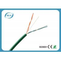 China 2 Pairs 4 Cores UTP Telephone Line Cable With 24AWG Bare Copper Conductor on sale