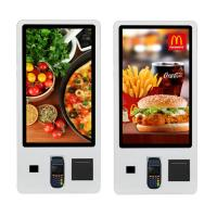 China 32 Inch Restaurant Digital Signage Capacitive Touch Screen Payment Machine on sale