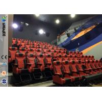 Large Screen 4D Cinema Equipment With Special Effects And Speaker Manufactures