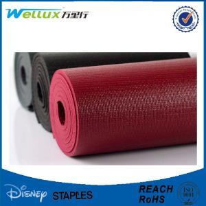 China Comfortable Rubber Custom Yoga Mats Eco - friendly with Yoga Bag 61 x 183 cm on sale