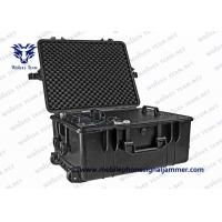 Full Band Frequency Vehicle Bomb Jammer RF WIFI Cell Phone Signal Jammer With DDS Convoy Jamming System Manufactures