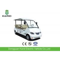 4 Wheel Left Hand Drive 48V Electric Sightseeing Car For Amusement Parks Manufactures