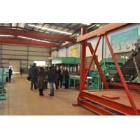 3 mm Corrugated Sheet Roll Forming Machine For Drainage / Posttension Manufactures