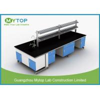 Metal Hospital Lab Furniture , Laboratory Work Benches For PCR Research Manufactures