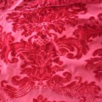 China Jacquard velvet fabric, made of 100% polyester on sale