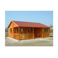 Environmental Friendly Outdoor Wooden House 800*700cm With 2 Bedrooms Manufactures