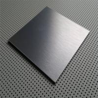 China China supplier of Stainless steel sheet grade AISI 430 304 surface Satin or NO.4 finish with laser cut pvc film on sale