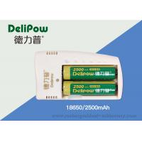 Environment Friendly 3.7V 2200mah 18650 Lithium Battery Low Power Self - Consumption  Manufactures