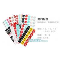 Transparent Custom design mini round Shape Recyclable mark sheet Paper Label stickerPaper Labels Permanent Adhesive Stic Manufactures