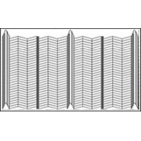 Rib Lath Construction Permanent Steel Formwork Width 600mm Manufactures