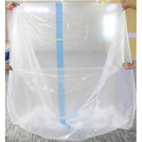 Plastic Square Bottom Bag For Pallet Covering Manufactures
