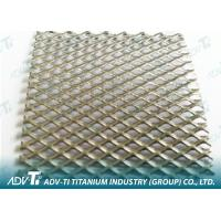 2.5 m Expanded Titanium Wire Mesh With Titanium Plate For Filter Elements Manufactures