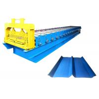 Prepainted Galvanized Standing Seam Metal Machine , Color Steel Roll Forming Machine Manufactures
