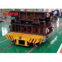 China Industrial project application workshop warehouse battery transfer cart rail for mould on sale