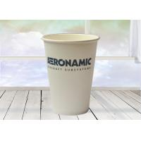 Disposable Kraft Hot Cups , Paper Water Cups With Customized Logo Manufactures
