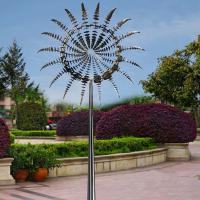 Metal Art Famous Modern Outdoor Garden Stainless Steel 2 M Diameter Wind Sculpture Manufactures