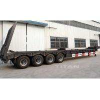 Buy cheap TITAN VEHICLE 3 axles /4 axle widely used cargo trailers with lowbed from wholesalers