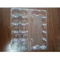 Clear plastic tray for eggs S size M size L size Manufactures