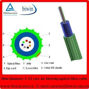 Super Mini Air Blowing 2~24 Core Fiber Optic Cable Manufactures