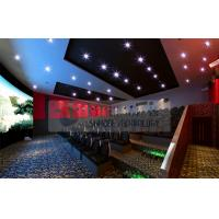Thrilling 6D Movie Theater , 6D Motion Simulators Experience With 3d Glasses Manufactures