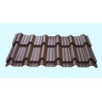 Light Weight Metal Roofing Sheets Waterproof Glazed Tile Shaped for sale