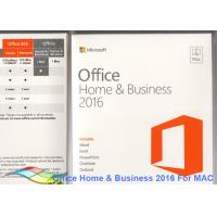 China Office 2016 Home and Business 100% Original Activate Multi Language For Mac on sale
