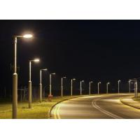IP65 80W / 100w 150w High Power LED Street Light Pure White With Photocell 3000 - 6500K Aluminum Body Manufactures