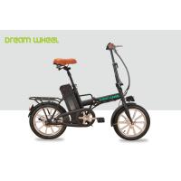 250W Folding Electric Bike / Bicycle , Electric Beach Bike 36v 10ah Battery Manufactures