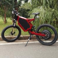 Red Color Specialized Electric Mountain Bike Voltage > 60V High Strength Steel Material Manufactures