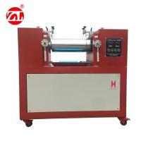 Electronic Heating Rubber Plastic Laboratory Two Roll Open Mill For PE PP PVC EVA ABS Manufactures