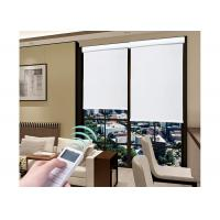 Balcony Smart Window Motorised Roller Blinds Stable Low Noise Operation Manufactures
