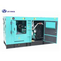 Buy cheap 60hZ Super Silent Cummins Diesel Powered Generator , 69kVA Diesel Generator from wholesalers