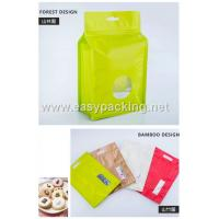 Qual side sealed flat bottom pouches with zipper for food packaging Manufactures