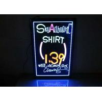 3040 Advertising LED Display Board , Illuminated Writing Board 1.6 Mm Ultra Thickness Manufactures