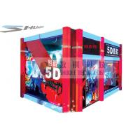 Mobile 5D Cinema Simulator With Audio System And Polarized Glasses Manufactures