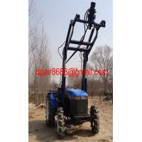 Buy cheap Holedigger& Earth Drilling& pile driver from wholesalers