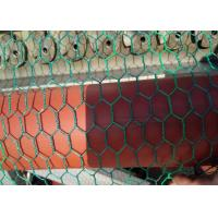 Green Chicken Netting PVC Coated 3 / 4