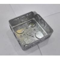 American Standard Metal Electrical Boxes And Covers 4x4 52151 / 52161 / 52171 Manufactures