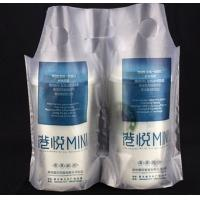 China Hdpe Custom Packaging Bags Plastic Bags For Beverage With Customzied Size on sale