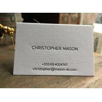 Double Sided Letterpress Business Cards