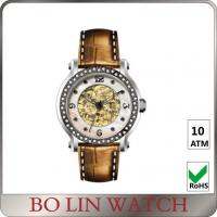 Diamond Bezel Index 316 Stainless Steel Automatic Watches For Women Any Colors Manufactures