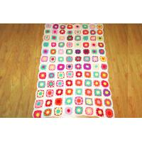 Wholesale China Cotton Blanket Crochet Baby Blanket Patterns 100% Handmade Manufactures