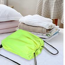 Multicolor Drawstring Backpack