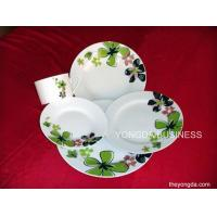 white porcelain 30 pieces dinnerware,  dinner set Manufactures