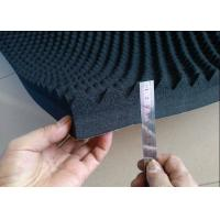 Quality EPDM Material Acoustic Foam Panels For Soundproofing / Reducing Noise 50mm Black for sale