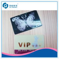 Silk Screen Plastic Card Printing , Customized Printed PVC Business Card Manufactures