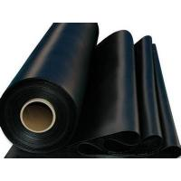China 1-8 Meter 1.0mm  black hdpe geomembrane for pond liner with suitable price by sincere factory on sale