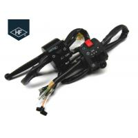 Black Plastic Left And Right Handle Switch Standard Size For Suzuki Motorcycle Manufactures