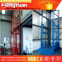 ISO approved guide rail chain hydraulic elevator Manufactures