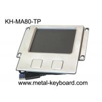 Rugged Industrial Touchpad Mouse with Stainless steel Panel Mount Manufactures
